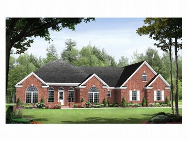 Traditional Home Plan, 001H-0073
