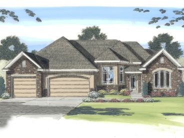 Ranch House Plan, 050H-0068