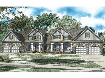 Townhouse Plan, 025M-0080