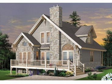 Narrow Lot House Plan, 027H-0079
