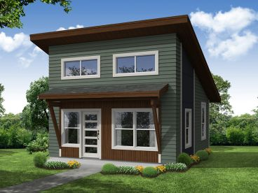 Tiny House Plan, 051H-0324