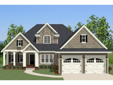 European Home Plan, 067H-0008