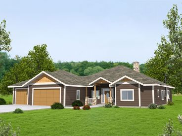 Ranch House Plan, 012H-0267