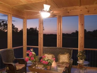 Screened Porch Photo, 007H-0119