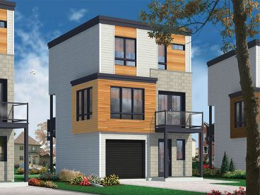 Page of   Modern House Plans   The House Plan Shop   Results    Modern  Story House Plan  H