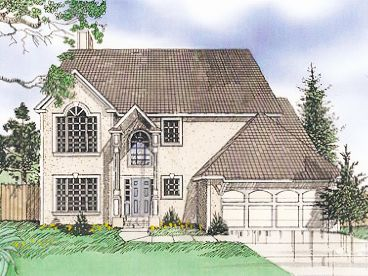 Sunbelt Home Plan, 009H-0020