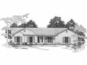 Ranch Home, 019H-0132