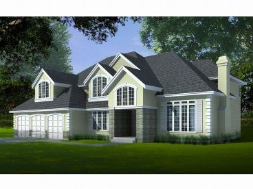 European Home Plan, 026H-0048