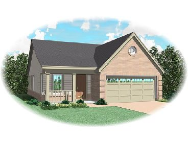 Small Home Plan, 006H-0019