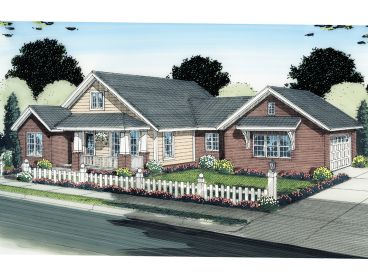 Family House Plan, 059H-0123