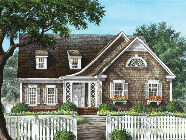 European House Plan, 063H-0031