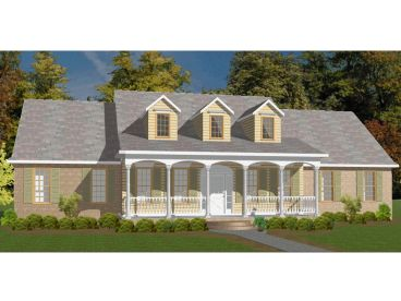 Country House Plan, 073H-0021