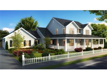 Country House Plan, 059H-0206