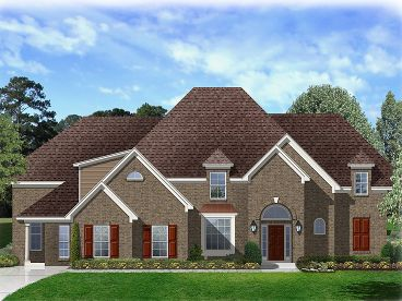 Two-Story Home Plan, 061H-0188