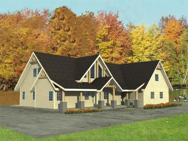 Northwestern House Plan, 012H-0063