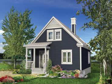 Cottage House Plan, 072H-0213
