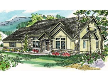 European Home Plan, 051H-0013
