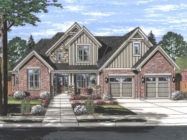 Two-Story House Plan, 046H-0156