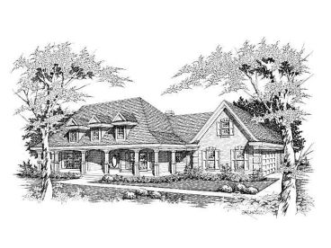 Southern Country Home, 061H-0100