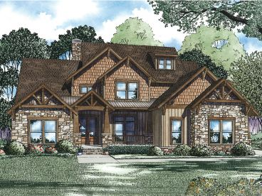 Luxury House Plan, 025H-0223