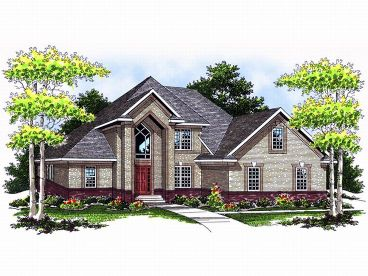 2-Story House Plan, 020H-0092
