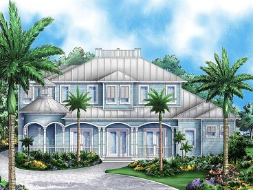 Cracker Home Plan, 037H-0134