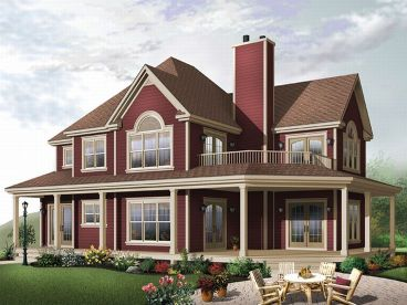 Country House Design, 027H-0048
