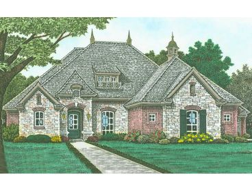 European Home Plan, 002H-0132