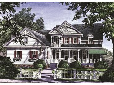 Two-Story House Plan, 063H-0030