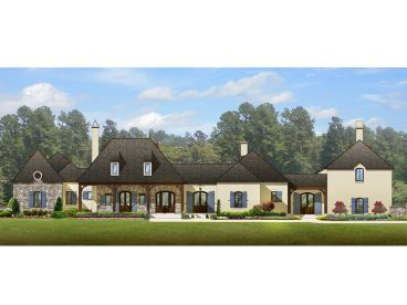European House Plan, 064H-0004