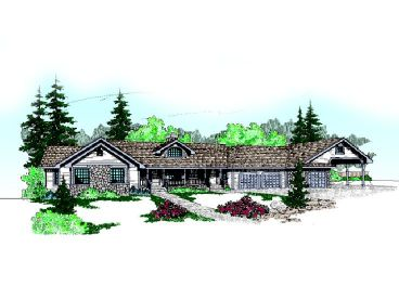 One-Story House Plan, 013H-0016