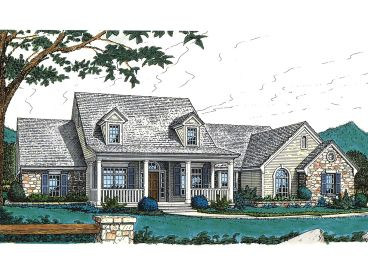 Country House Plan, 002H-0013
