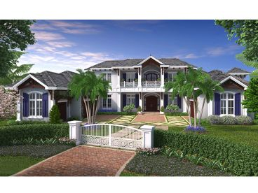 Premier Luxury Home Plan, 037H-0206