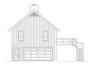Garage Apartment Plan, 006G-0144
