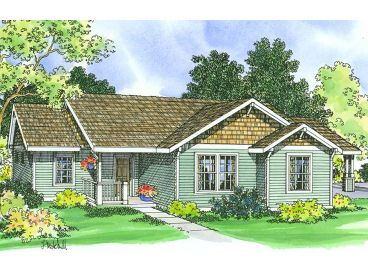 Small Home Plan, 051H-0073