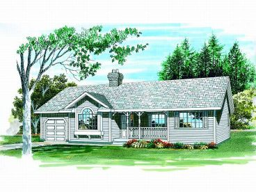 Small House Plan, 032H-0034