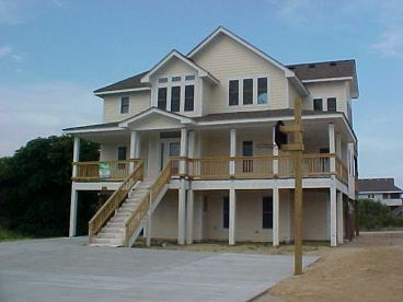 Beach House Plan Photo, 041H-0008