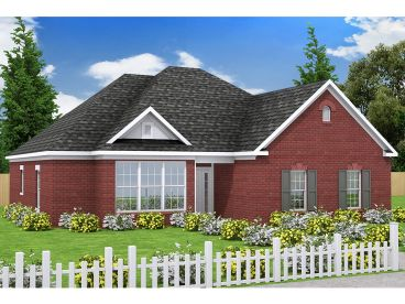 Ranch Home Plan, 059H-0047