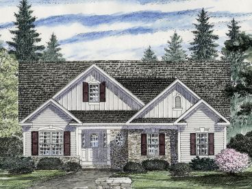 Traditional Home Design, 014H-0071
