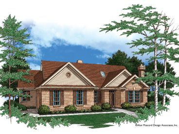 Traditional House Plan, 034H-0072
