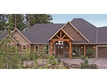 Mountain House Plan, 034H-0311