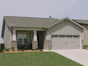 Bungalow House Plan, 073H-0120