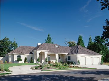 Sunbelt House Plan Photo, 034H-0078