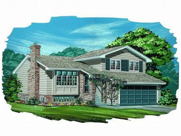 Ranch House Plan, 032H-0011