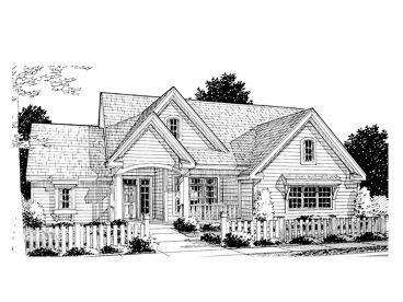 Traditional House Plan, 059H-0068