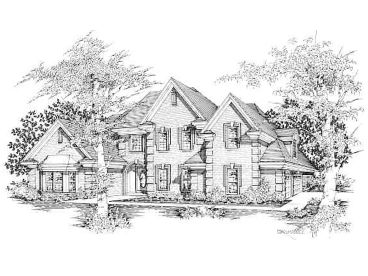 Family House Plan, 061H-0123