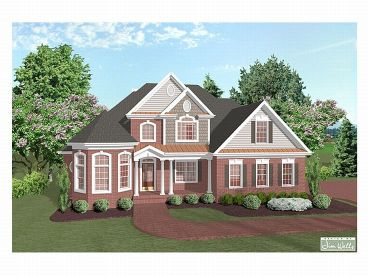 2-Story Home Plan, 007H-0069