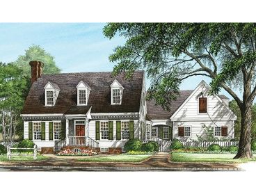 Cape Cod House Plan, 063H-0202