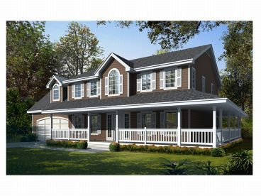 Country Home Plan, 018H-0014