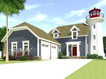 Cape Cod House Plan, 052H-0041